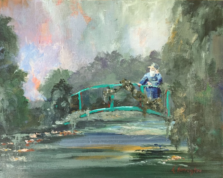 Monsieur Monet in His Garden - Image 0