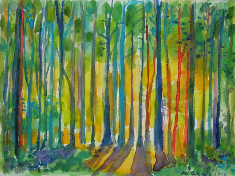 Light in the woods - Image 0