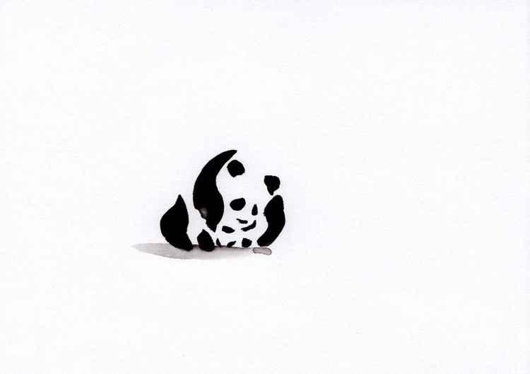 Two pandas 1521A
