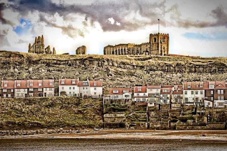 Whitby Abbey and Bay -
