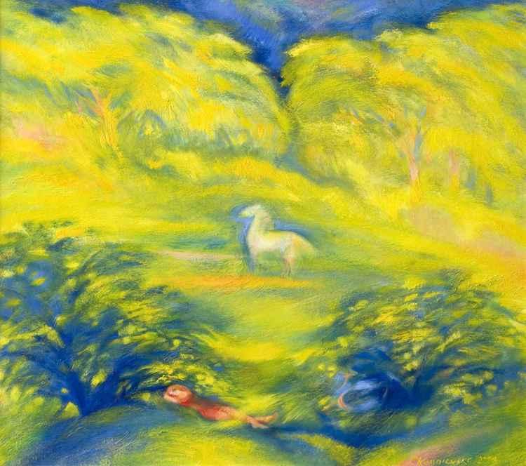 White horse -