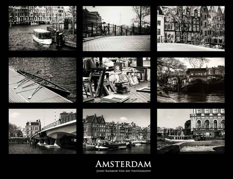 Amsterdam by Jenny Rainbow   ((Ltd Edition of only 48 Fine Art Giclee Prints from an original photograph)