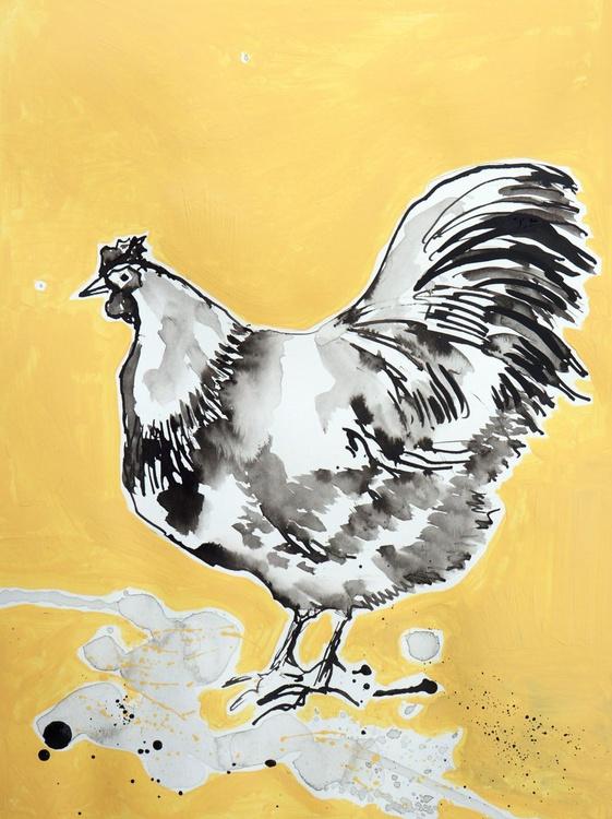 Hen (Vanilla background) - Image 0