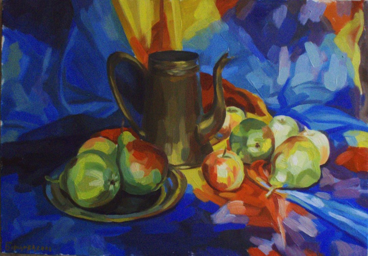 Stillife with pears - Image 0