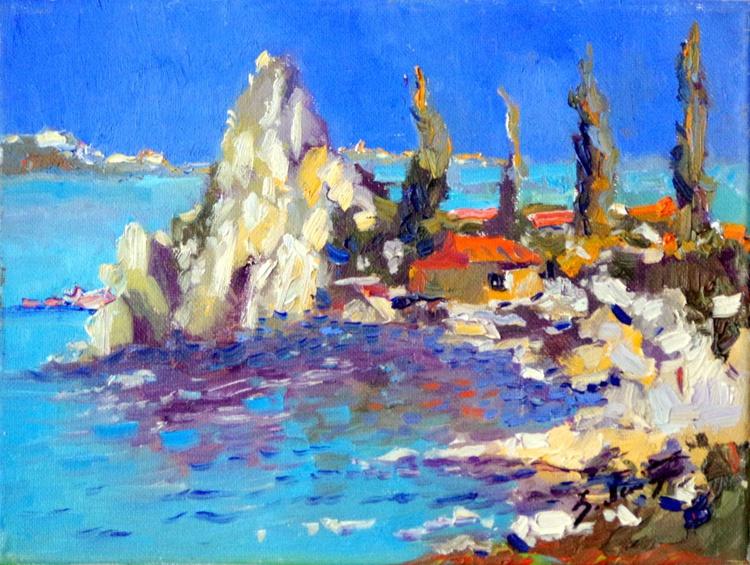 White Rocks on Ocean ( Midday) - Image 0