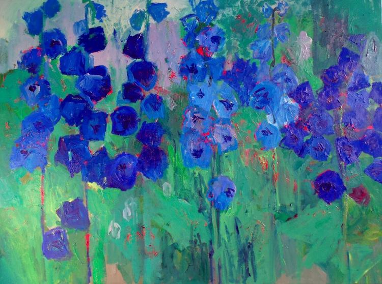 Blue flowers - Image 0