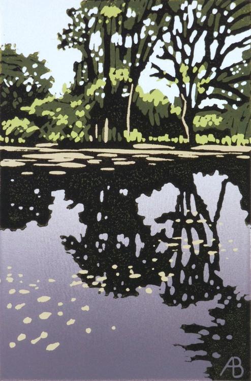 Trees Cast Reflection - Image 0