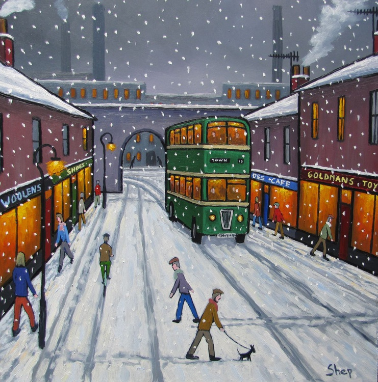 Snow in Town. - Image 0