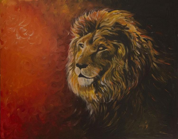 Lion - Spirit Animal Art - Image 0