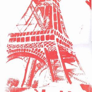 Eiffel Tower Screenprint by Mary Stubberfield