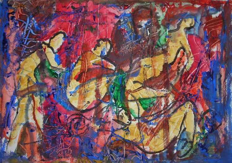 Mosaïcs nudes -