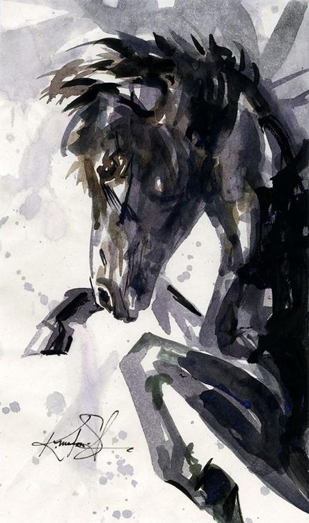 Horse Sketch No.2 - Image 0
