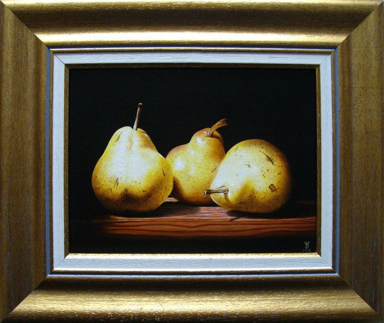 3 pears in the shade - Image 0