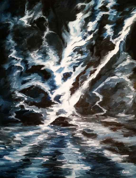 Water Over Rocks