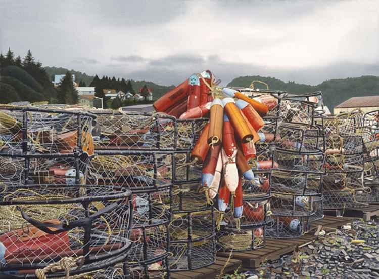 Alaska Crab Traps -