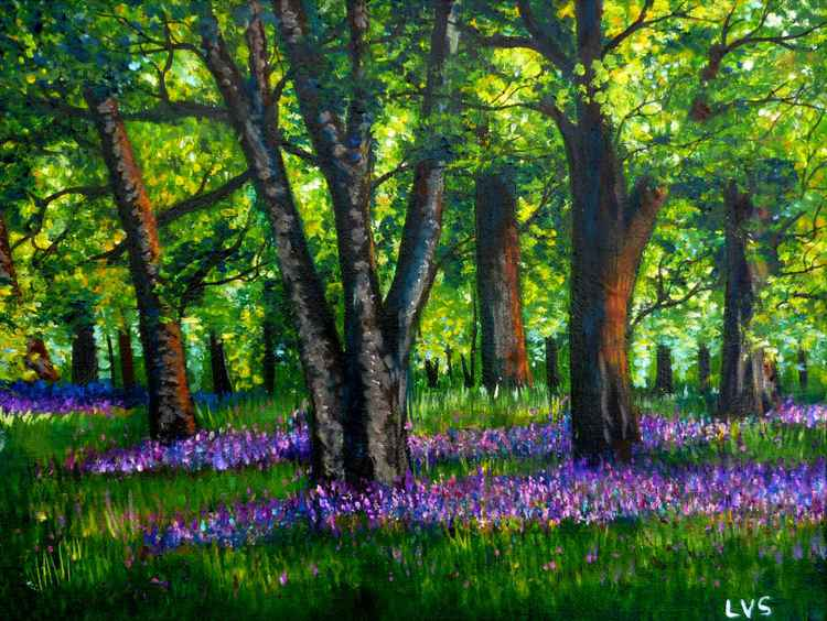 "Summer Forest 12 x 9"" -"
