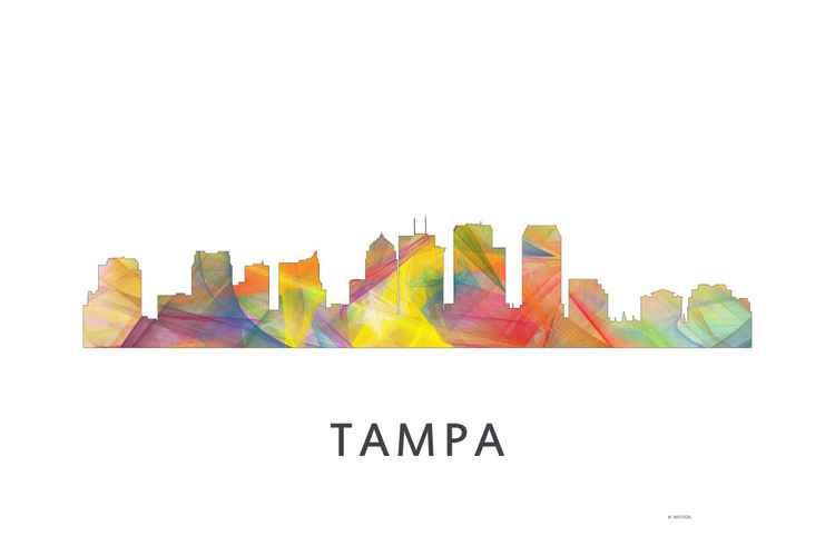 Tampa Florida Skyline WB1 -