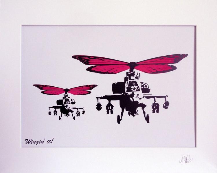 Wingin' it! (Pink wings) - Image 0
