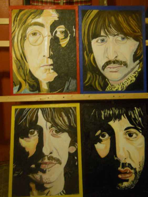 BEATLES SET OF 4 -