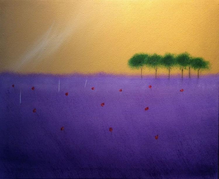 """ purple lush of Provence "" - Image 0"