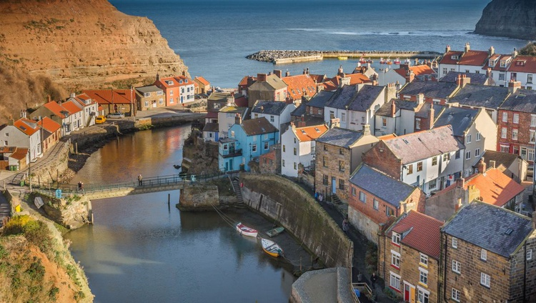 Staithes Winter Light - Image 0