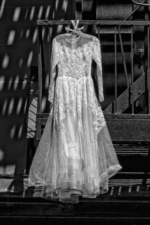 Dress on the Fire Escape -
