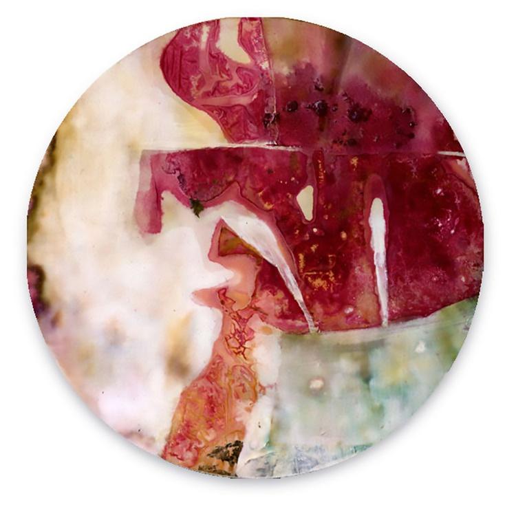 Abstract Painting - Mixed Media - Circle Abstraction Series . No. 30 - Image 0