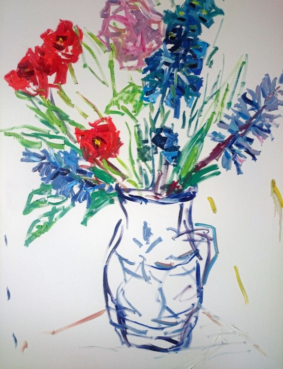 Flowers in the jug #2 - Image 0