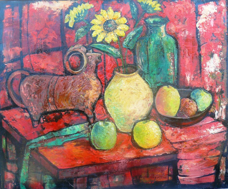 Still life with kumanets - Image 0