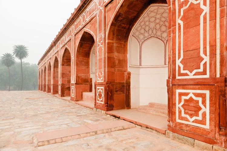 Humayun's Tomb, New Delhi. (59x42cm) - Image 0