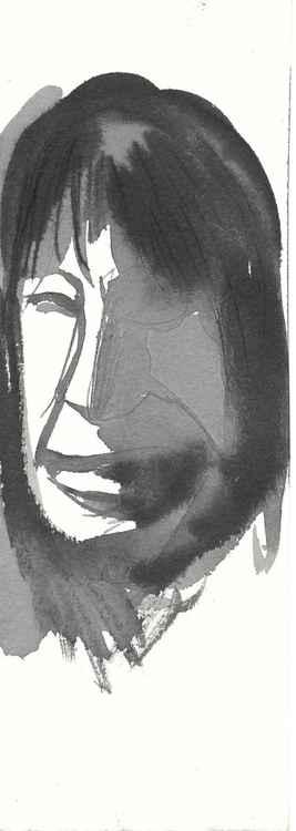 Portrait, 8x24 cm -
