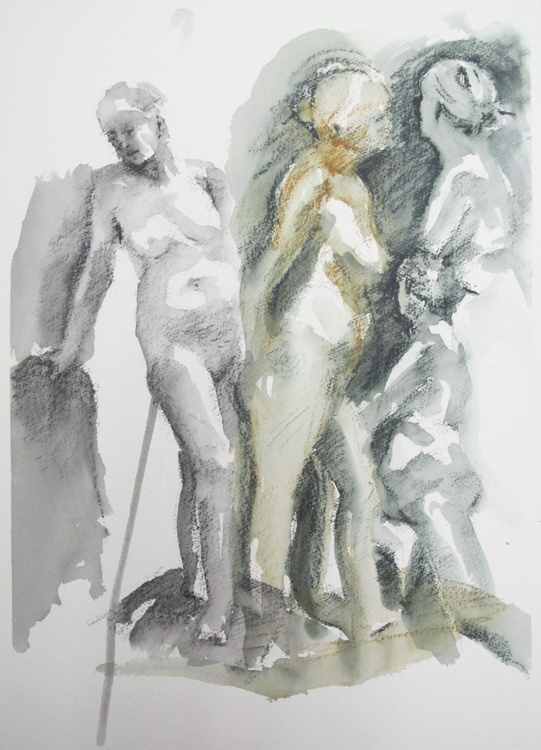 standing nudes - Image 0
