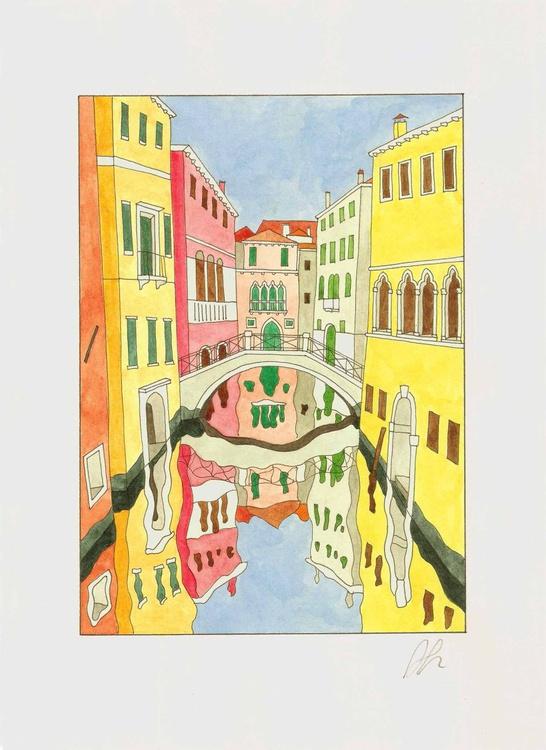 Ponte Piscina de Frezzaria in Venice - Image 0