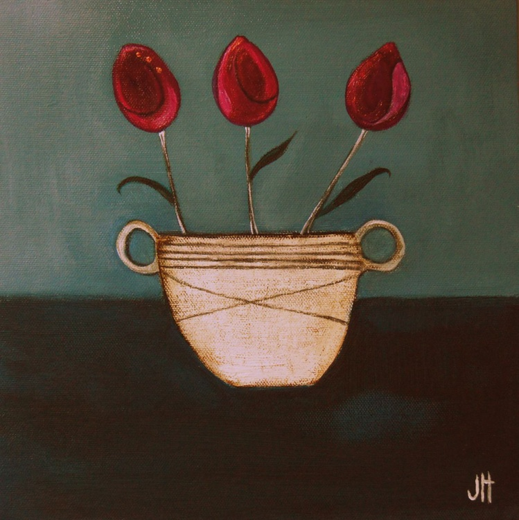 The Three Tulips.., - Image 0