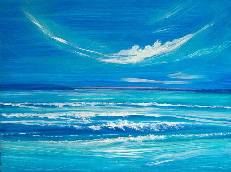 Seascape - Quick Sketch -