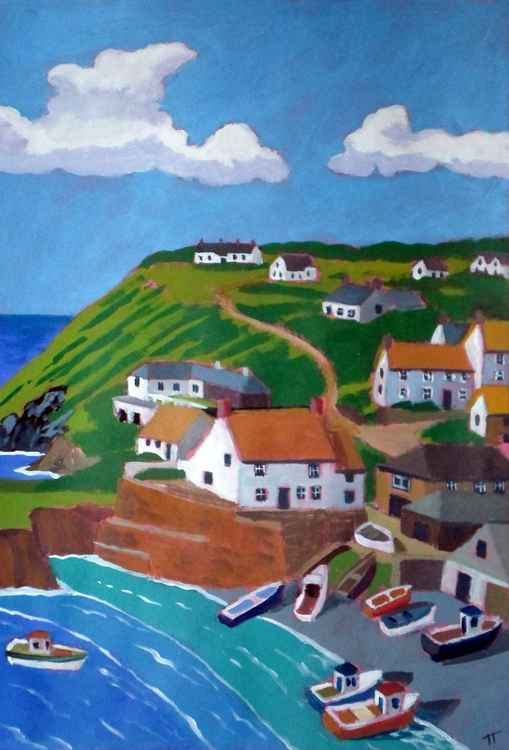 Cadgwith Cove, The Lizard.