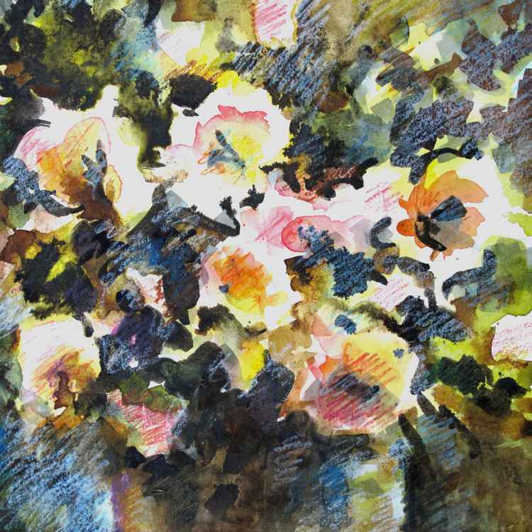 Abstract flowers bouquet -