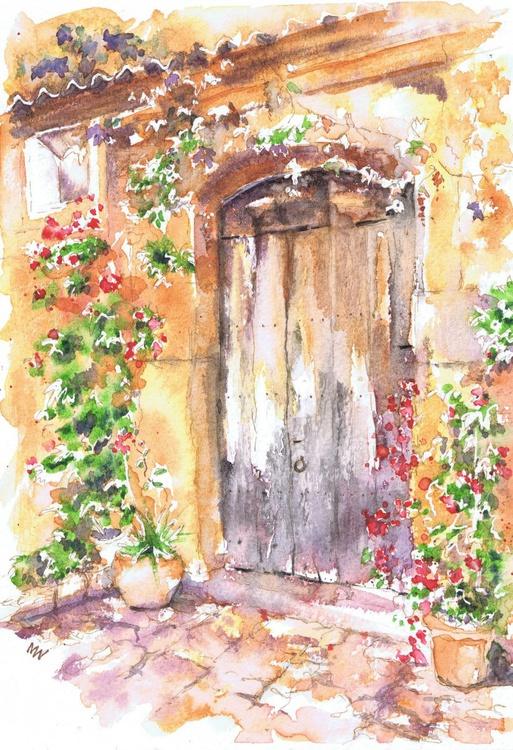 Old Spanish Door - Image 0