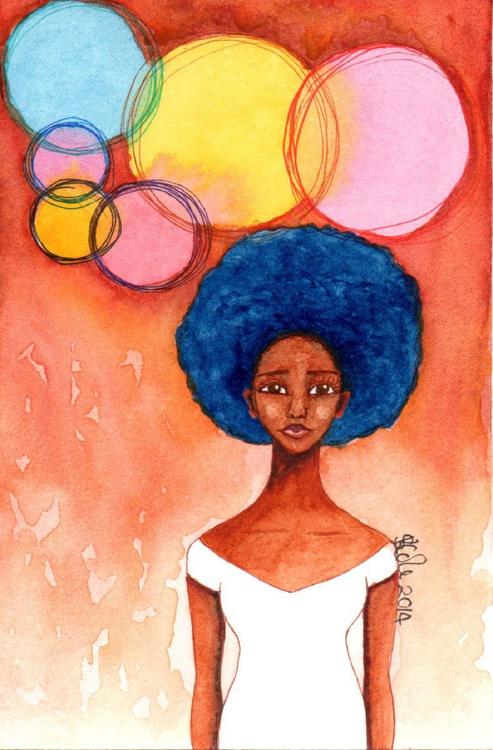 'Breaking Free' Original Watercolour Painting - Image 0