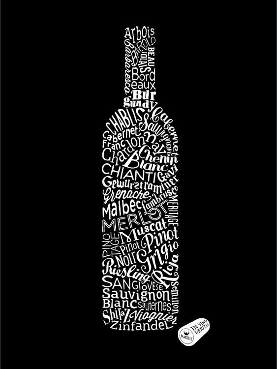 Wine Types (Black) - Image 0