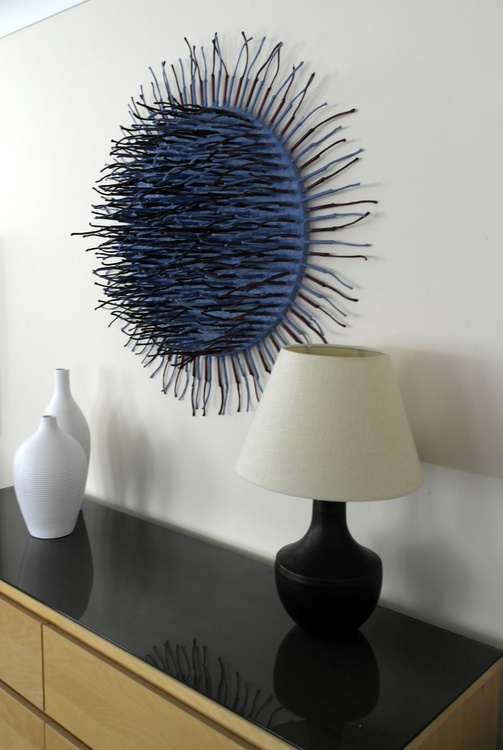 Spiked Disc (Blue/Purple) - Image 0
