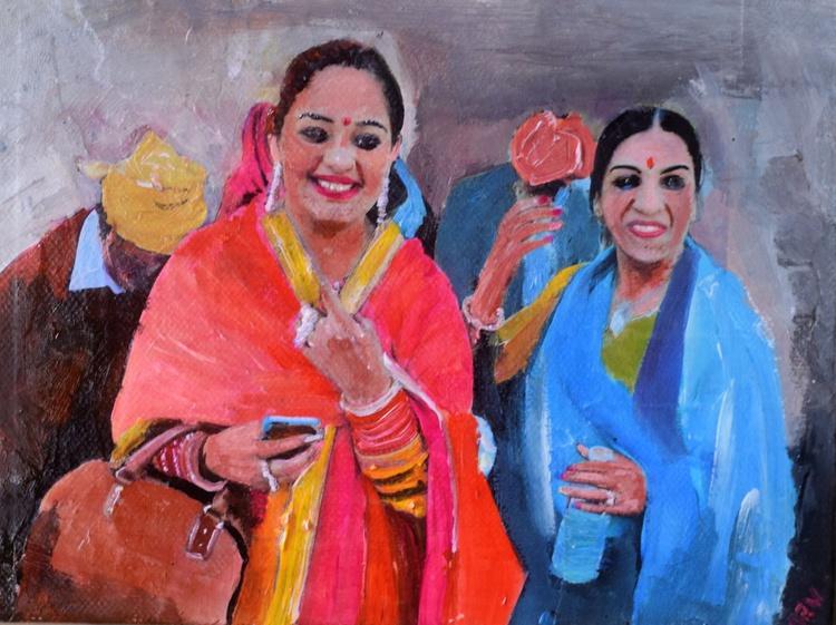 Two Sikh Women - Image 0