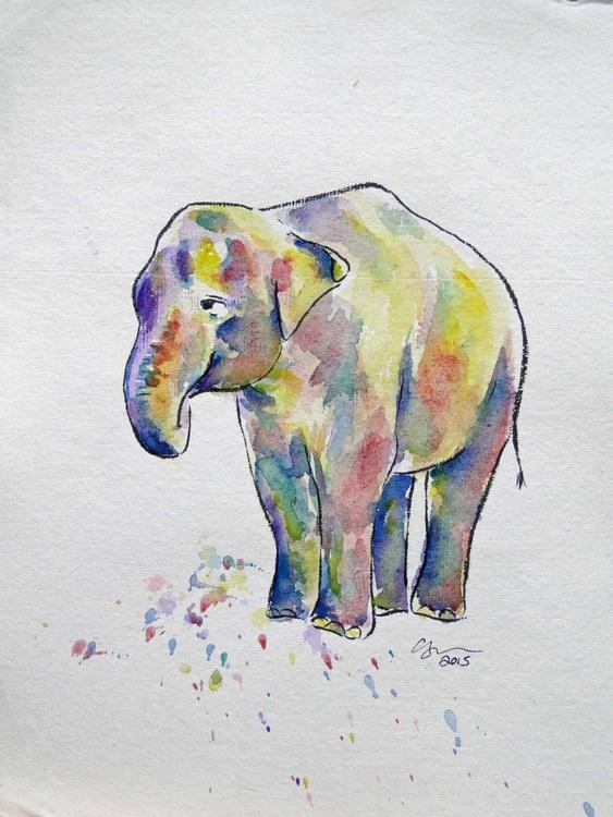 Rainbow Elephant - Image 0