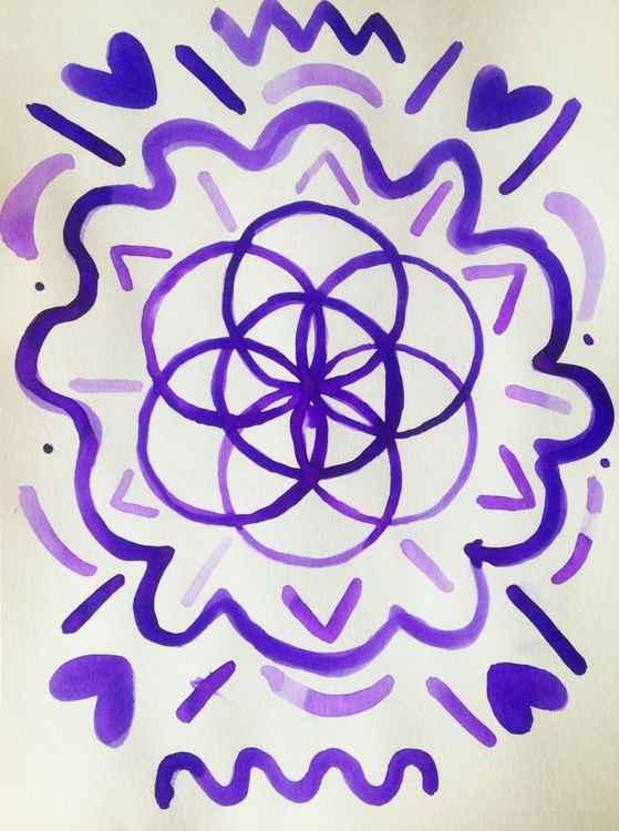 Indigo Flower -