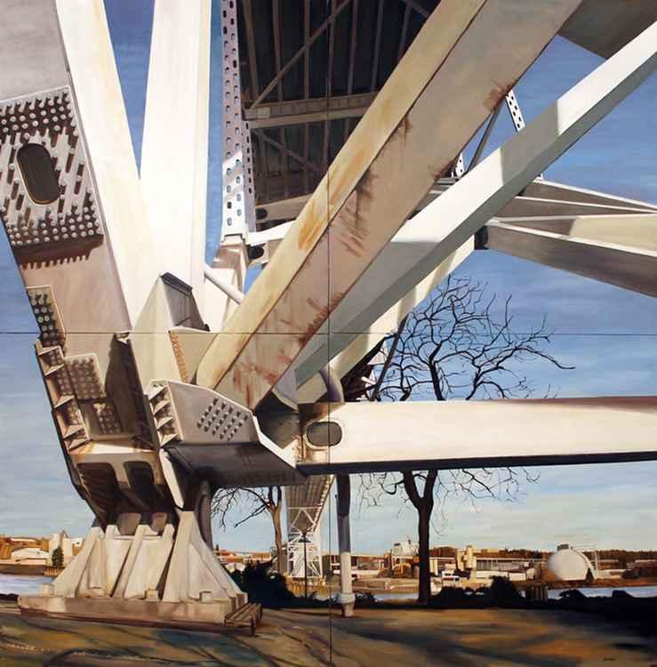 Fremont Bridge Footing -