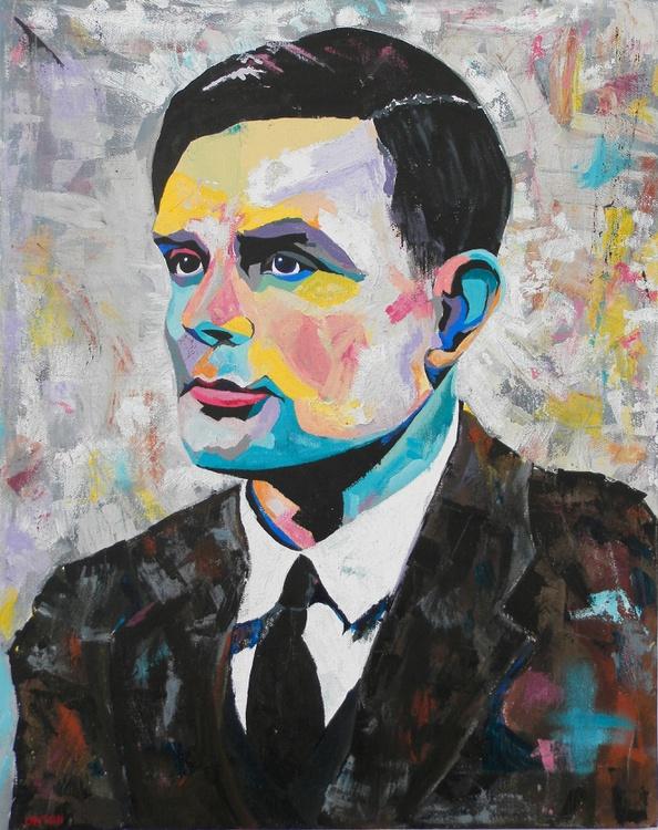 Alan Turing Portrait - Image 0