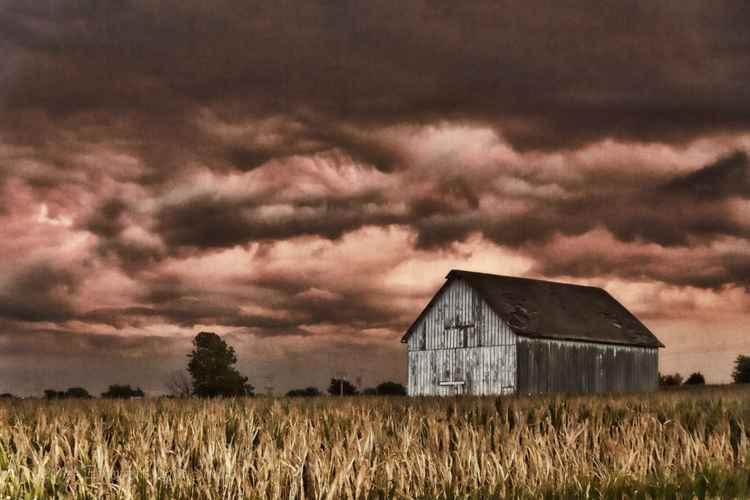 In the Eerie Glow of the Menacing Storm -