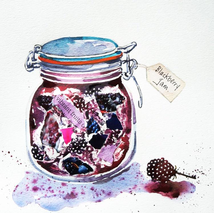 Blackberry Jam (handmade) - Image 0