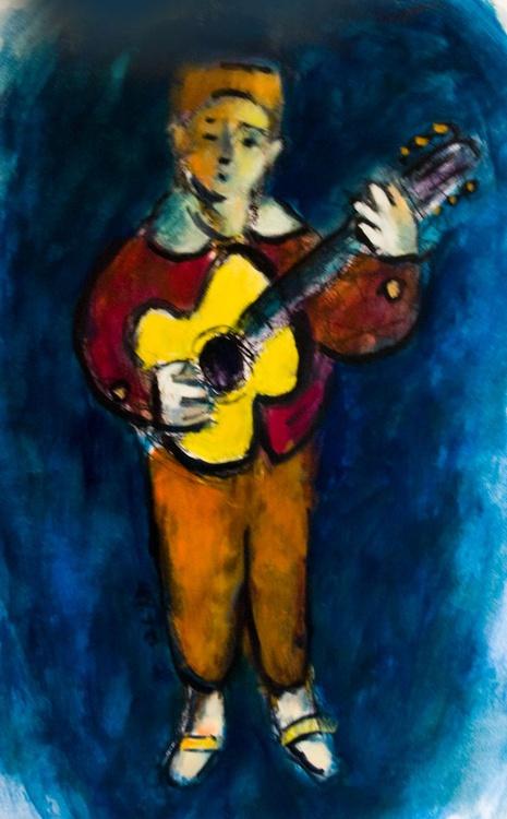 Yellow Guitar #2 - Image 0