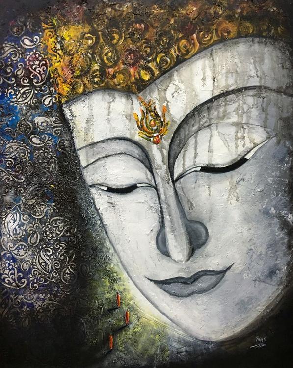 3 MONKS & VISION OF BUDDHA - Image 0